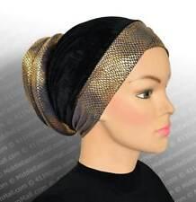 Venetian Volumizer Turbans #4 Blue ready to wear turban hijab- Underscarf  chemo