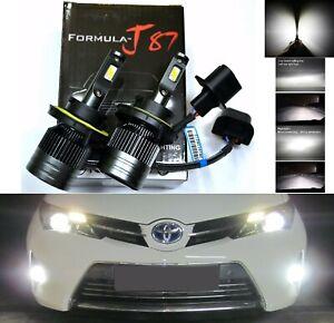LED Kit G8 100W 9008 H13 4300K Stock Two Bulbs Head Light Xenon Look Hi/Lo Beam