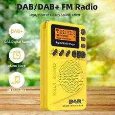 Pocket Mini DAB Digital Radio FM Receiver RDS With LED Display Portable MP3