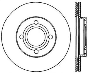 StopTech 126.33018SR StopTech Sport Rotor Fits 84-87 4000 Quattro Coupe