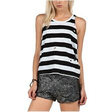 NEW VOLCOM SURF DON'T COWL ME TANK CAMI COTTON SMALL 23-3