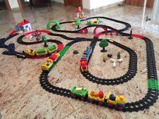 Playmobil 1 2 3 Eisenbahnset, Eisenbahn, Sortiergarage, Elektrolok, Bahnhof...