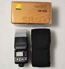 Nikon Speedlight SB-600 Shoe Mount Flash for Nikon 2055475 (BOXED)
