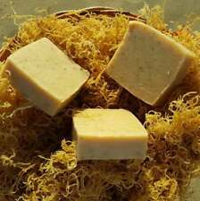 Gold Sea Moss Soap (Handmade, Vegan) With Wildcrafted Jamaican Gold Sea Moss