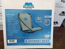 Millennium Marine Boat Seat Grey B100Gy Quick Dry