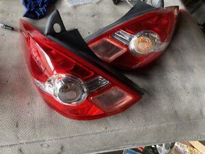 2008 Nissan TIIDA VERSA LATIO C11 Taillight Lamp Set OEM