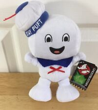 Ghostbusters Stay Puft Marshmallow Man Plush New With Tags 9 In Tall Happy Face