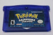 Pokemon Sapphire Game Boy Advance GBA Authentic Needs Battery