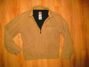 Carhartt Men's Vintage 90s Retro Full Zip Work Wear Jacket SZ M Made in USA