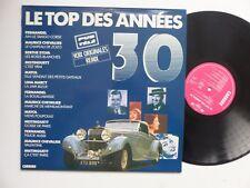 LP le top des années 30 FERNANDEL MISTINGUETT CHEVALIER MAYOL photo voiture RRT