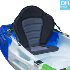 Ultimate Sit On Top Kayak Seat Universal Comfy Padded Adjustable Brass