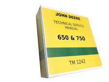 650 John Deere Technical Service Shop Repair Manual 800 pages!