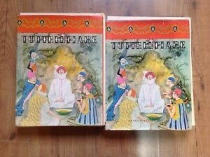 TUTTE LE FIABE  - VOLUME 1 e 2 - FRATELLI FABBRI EDITORI 1962