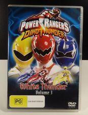 Power Rangers DVD - DINO THUNDER: WHITE THUNDER - Vol 3 - KIDS SHOW