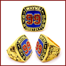Ring of 1978-1999 Wayne Gretzky #99 World Serie Championship Rings - All Sizes
