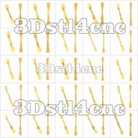 25 3D Models STL CNC Router Artcam Aspire New Baluster Decor Cut3D Vcarve