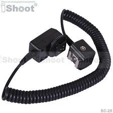 Flash Cable I-TTL fuera de cámara Sync Cord para Nikon SC-28&SB910/SB900/SB400