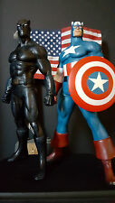 BOWEN CAPTAIN AMERICA & BLACK PANTHER STATUE FLAGS OF OUR FATHER NT SIDESHOW