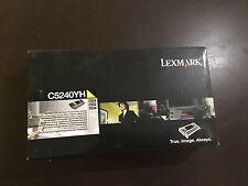 LEXMARK C5240YH Toner LEXMARK jaune C524 C532 C534 new genuine