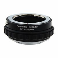 Fotodiox Objektivadapter DLX Stretch for Contax/Yashica Lens to Sony E-Mount