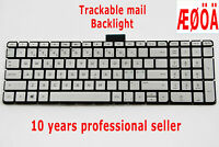 For HP Pavilion 15-ab 15-bc 15-aw 15-aq 15-ar 17-ab m7-n Keyboard Nordic Backlit