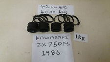 KAWASAKI ZX750 NINJA 1987 F1 CARBURETOR INLET RUBBERS & ALL CLIPS NO SPLITS