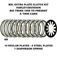 BDL Clutch Plates Harley-Davidson 1998 - Present Big Twins & Twin Cams - BTXP-14