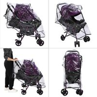 Stroller Rain Cover Universal, Baby Travel Weather Shield, Wind/Snow/Dustproof.