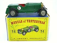Matchbox Yesteryear Y5-1 Le Mans Bentley In Type 'D1' Box