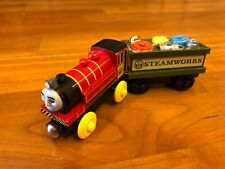 Thomas Wooden Railway Victor & Spare Parts Car 2003 Learning Curve