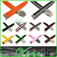 VEXA Kids Webbing Belt 3-6 years 65cm Toddler Children Boys Girls Canvas Made UK