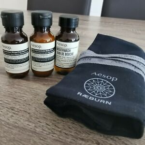 aesop travel set(with travel bag)