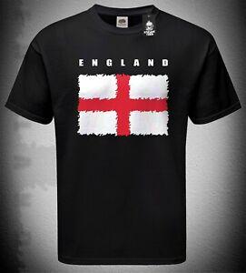 Mens St. George's Flag Tshirt England Euro 2020 Football Supporter Fan