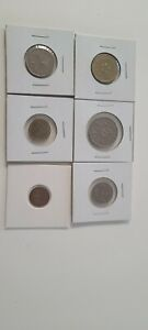 MONEY SET OF 6 COINS FROM SINGAPORE. 1986-2005