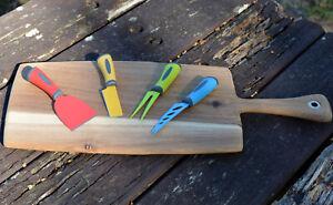 Peer Sorensen Cheese Board & Scanpan Cheese Knife Set - Multi