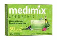 1x Medimix Ayurvedic Natural Glycerine Fast Acting Ayurveda Bathing Soap 125g