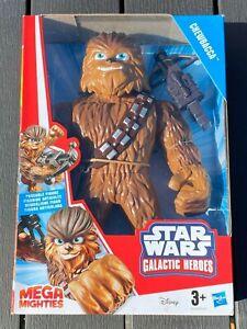 "CHEWBACCA - STAR WARS GALATIC HEROS -  10"" POSEABLE ACTION FIGURE - BNIB"