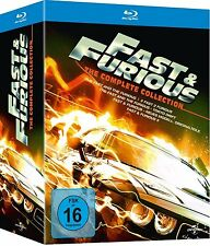 FAST & FURIOUS 1-5, The Complete Collection (Blu-ray, 5 Discs) NEU+OVP