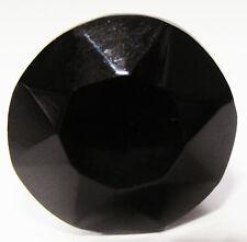 Verre / Coupe Verre noir tiroir & placard tirer porte boutons 22mm