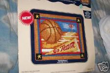 DMC Needlepoint Canvas Collection 'Basketball' NEW
