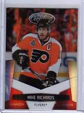 MIKE RICHARDS 10/11 Panini Certified Mirror RED /250 #105 Hockey Card Parallel