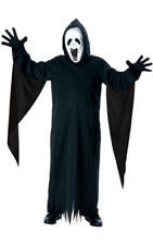 Kids Childs Howling Ghost Fancy Dress Costume Outfit Halloween Grim Reaper M