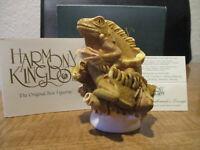 Harmony Kingdom Leatherneck's Lounge Iguanas' UK Made Box Figurine