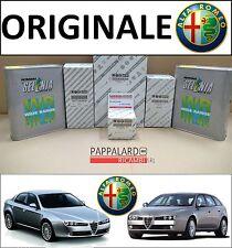 KIT TAGLIANDO ORIGINALE 3 FILTRI+OLIO SELENIA ALFA ROMEO 159 1.8 BENZINA 140 CV