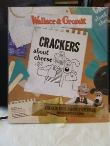 NEW! SCREEN SENSATION 12x12 WALLACE & GROMIT CRACKERS ABOUT CHEESE COST £18.99
