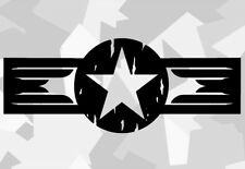 2x US ARMY STERN RETRe STICKER AUTO CAR AUFKLEBER RATTE ARMEx STAR OLDSCHOOL ex