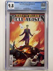 Year of the Villain: Hell Arisen #3 - CGC 9.8 (DC 2020 - 1st Punchline)