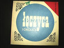 ŁĘCZYCA I OKOLICE - GRODZKA, 1972, POLISH TOURIST BOOK, POLSKA KSIĄŻKA _________