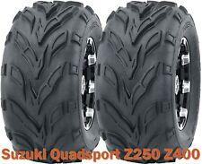 Suzuki Quadsport Z250 Z400 ATV front tires set 22x7-10 22x7x10
