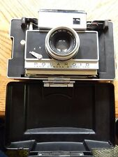 Vintage Polaroid 180 Land Camera, EXCELLENT condition with case, Tominon lens